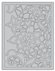 Altenew - Cutting Dies - Doodled Lace Cover Die