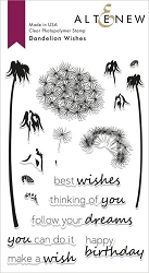 Altenew - Clear Stamps - Dandelion Wishes