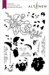 Altenew - Clear Stamps - Handpicked Bouquet