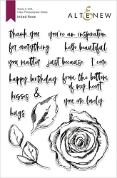Altenew - Clear Stamps - Inked Rose