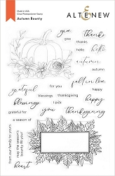 Altenew - Clear Stamps - Autumn Bounty