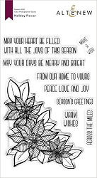 Altenew - Clear Stamps - Holiday Flower