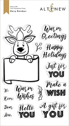 Altenew - Clear Stamps - Merry Reindeer
