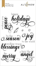 Altenew - Clear Stamps - Warm Blessings