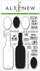 Altenew - Clear Stamps - Bottleful of