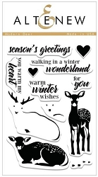 Altenew - Clear Stamps - Modern Deer