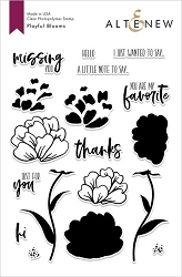 Altenew - Clear Stamps - Playful Blooms