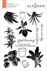 Altenew - Clear Stamps - Potted Plants