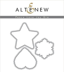 Altenew - Cutting Dies - Peace Love Joy
