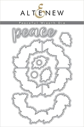 Altenew - Cutting Dies - Peaceful Wreath