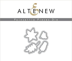 Altenew - Cutting Dies - Poinsettia Pieces