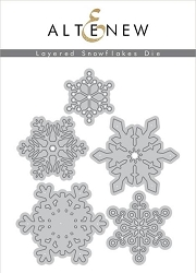 Altenew - Cutting Dies - Layered Snowflakes Die Set
