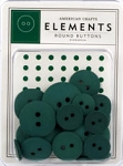 American Crafts Buttons - Evergreen
