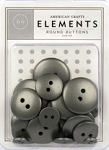 American Crafts Buttons - Pewter