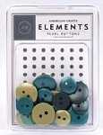 American Crafts Buttons - I Do Assortment