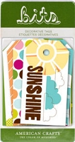 American Crafts - City Park Collection - Bits Tags