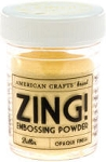 American Crafts Embossing Powder - Zing Opaque Butter