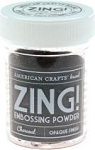American Crafts Embossing Powder - Zing Opaque Charcoal