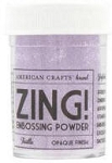 American Crafts Embossing Powder - Zing Opaque Thistle
