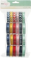 American Crafts - Lucky Charm Collection - Dear Lizzy -  Value Pack (24 Spools) Premium Ribbon :)