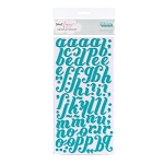 American Crafts Thickers Foam Stickers - Christmas Series - Merry Mermaid