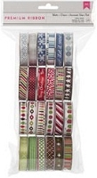 American Craft - 24 Pack Premium Ribbon Spools - Winter :)