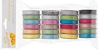 American Crafts - Amy Tangerine Sketchbook -  Value Pack (24 Spools) Premium Ribbon