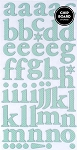 American Crafts Thickers Printed Chipboard Stickers - Regards Geyser