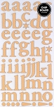 American Crafts Thickers Printed Chipboard Stickers - Regards Honey