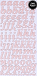 American Crafts Thickers Pearl Chipboard Stickers - Marquise Rose