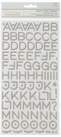 American Crafts Thickers - Studio Calico Abroad Alphabet Stickers