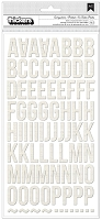 American Crafts Thickers Stickers - Laminated Finish - Canvas