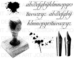 Art Journey - Unmounted Rubber Stamps - Pennibs