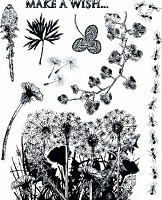 Art Journey - Unmounted Rubber Stamps - Nature Springtime