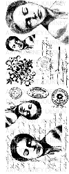 Art Journey - Unmounted Rubber Stamps - Freya