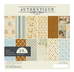 Authentique - Abundant Collection - 6x6 Paper Pad