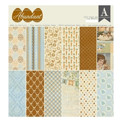 Authentique - Abundant Collection - 12x12 paper pad