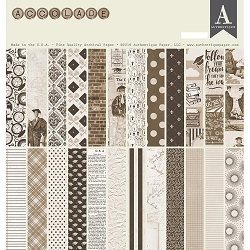 Authentique - Accolade Collection - 12x12 paper pad