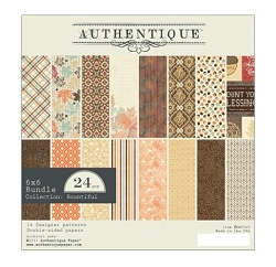 Authentique - Bountiful Collection - 6x6 Paper Pad :)