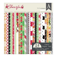 Authentique - Cheerful Collection - 12x12 paper pad