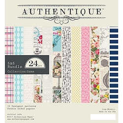Authentique - Dame Collection - 6x6 Paper Pad :)
