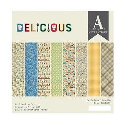 Authentique - Delicious Collection - 6x6 Paper Pad