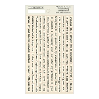 Authentique - Everlasting Collection - Petite Diction sticker