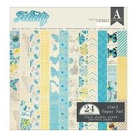 Authentique - Felicity Collection - 12x12 paper pad