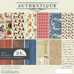 Authentique - Frontier Collection - 6x6 Paper Pad