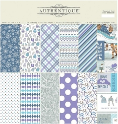 Authentique - Frosted Collection - 12x12 paper pad
