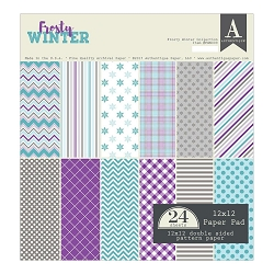 Authentique - Frosty Winter Collection - 12x12 paper pad