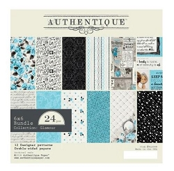 Authentique - Glamour Collection - 6x6 Paper Pad