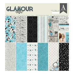 Authentique - Glamour Collection - 12x12 paper pad
