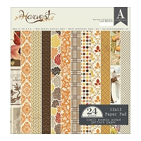 Authentique - Harvest Collection - 12x12 paper pad